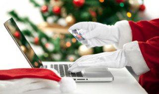 Credit card Christmas shopping